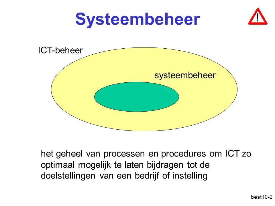 Systeembeheer ICT-beheer systeembeheer
