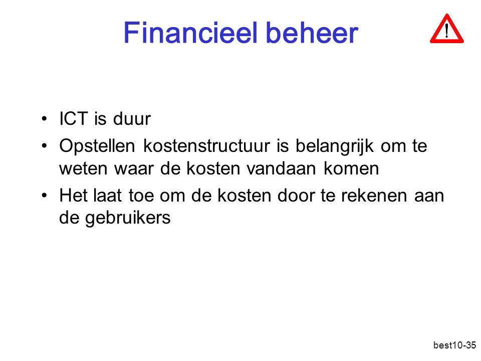 Financieel beheer ICT is duur