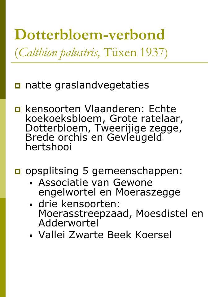 Dotterbloem-verbond (Calthion palustris, Tüxen 1937)