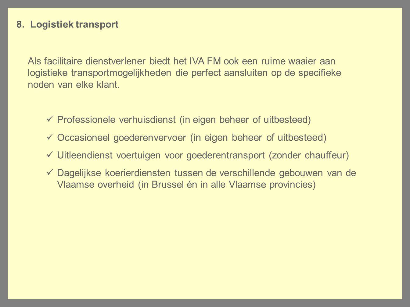 Logistiek transport