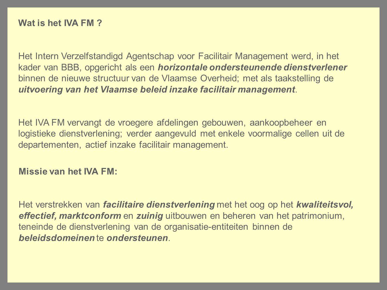 Wat is het IVA FM