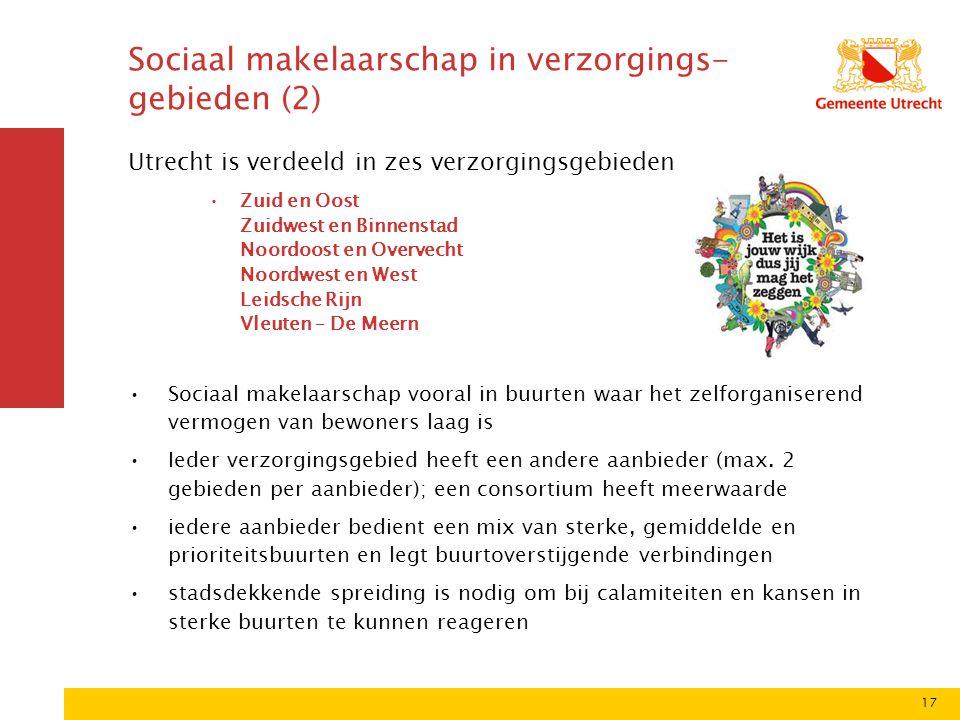 Sociaal makelaarschap in verzorgings-gebieden (2)