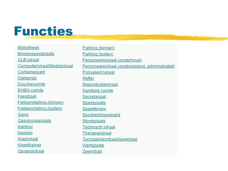 Functies Controlepunten-functie:
