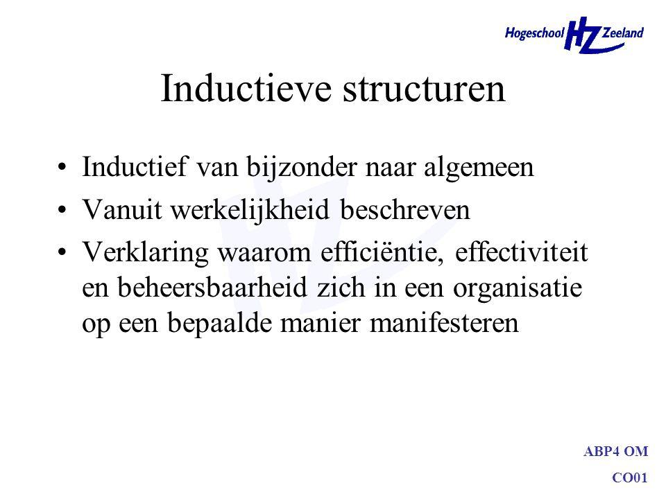 Inductieve structuren