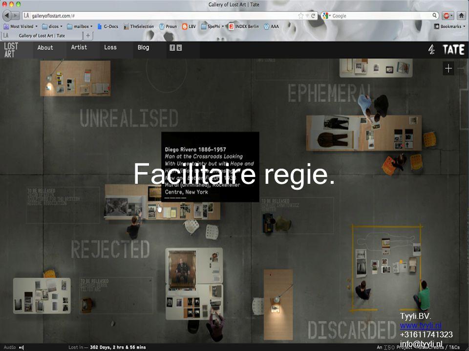 Facilitaire regie. Tyyli.BV. www.tyyli.nl +31611741323 info@tyyli.nl