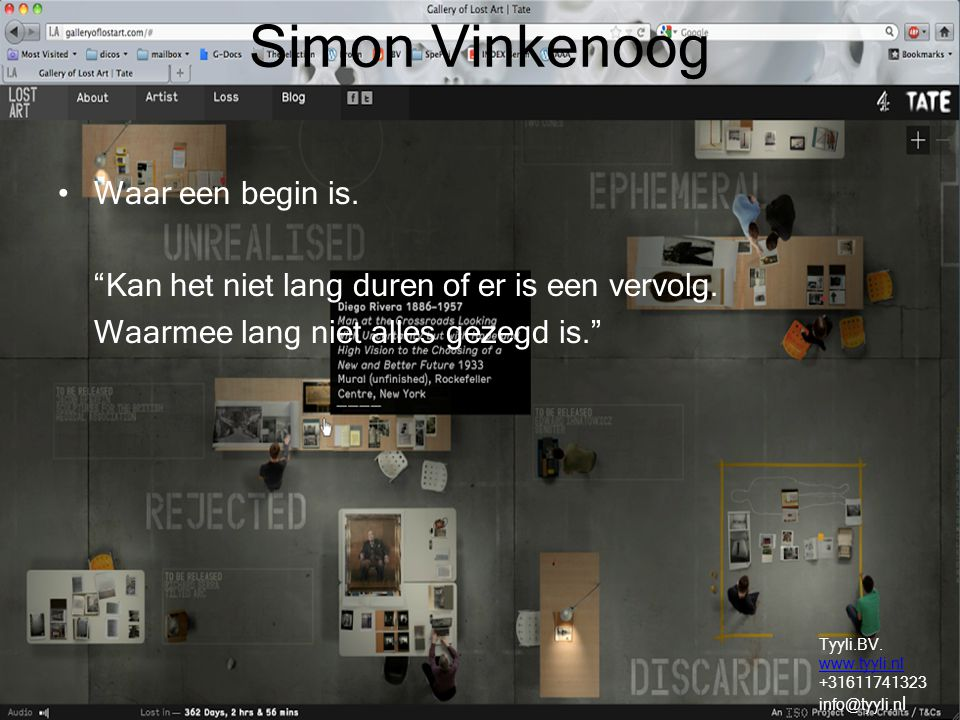 Simon Vinkenoog Waar een begin is.
