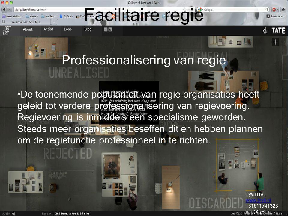 Professionalisering van regie