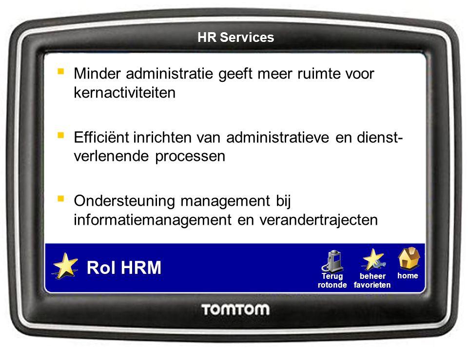 Rol HRM Minder administratie geeft meer ruimte voor kernactiviteiten