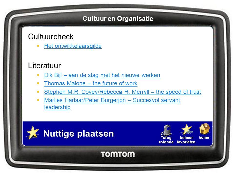Cultuur en Organisatie