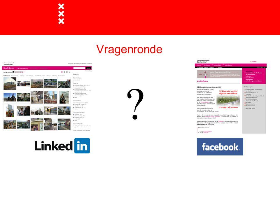 Titel presentatie Vragenronde Gemeente Amsterdam 1 januari 2003