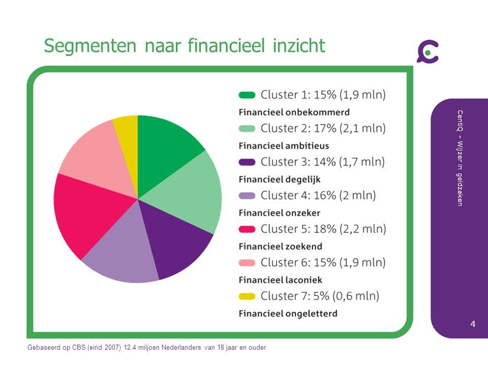Segmenten naar financieel inzicht