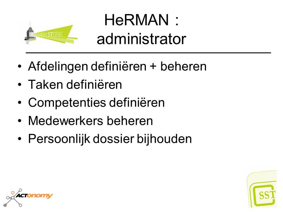 HeRMAN : administrator