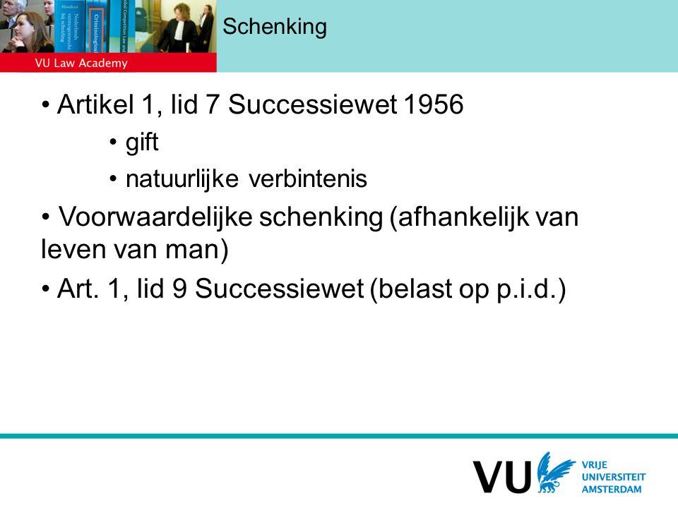 Artikel 1, lid 7 Successiewet 1956