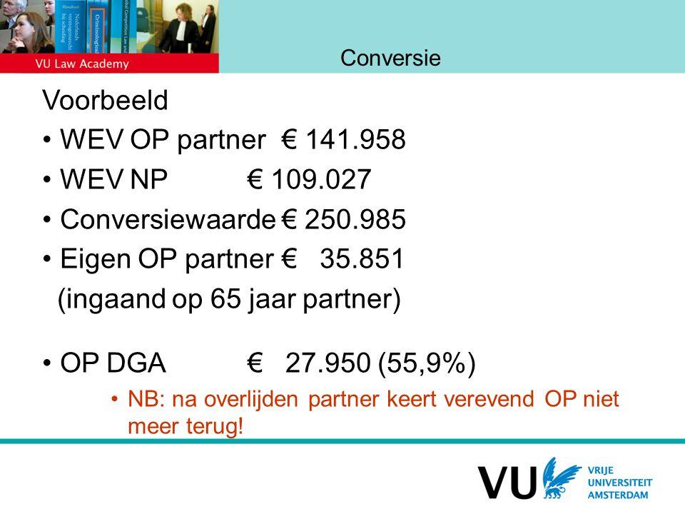 (ingaand op 65 jaar partner) OP DGA € 27.950 (55,9%)