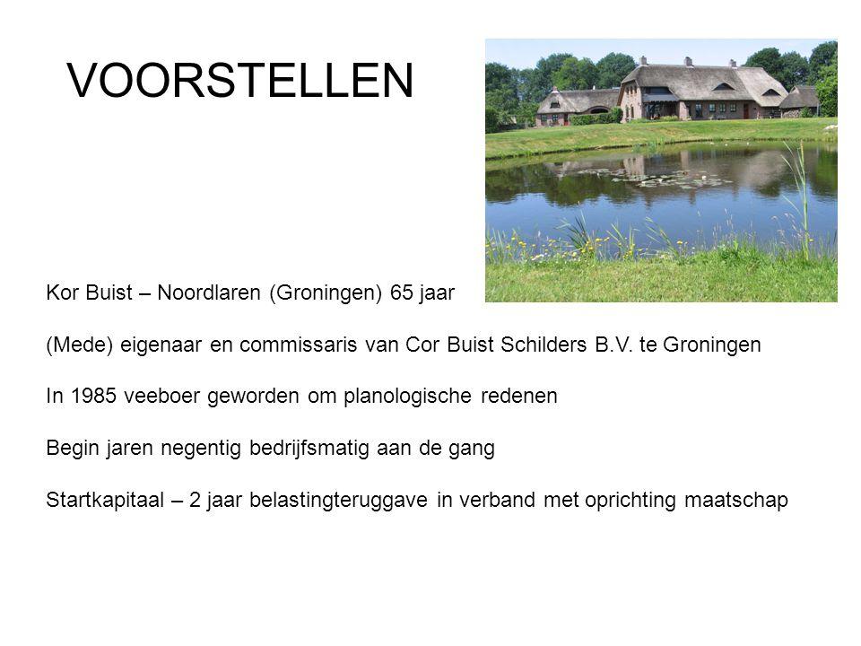 VOORSTELLEN Kor Buist – Noordlaren (Groningen) 65 jaar
