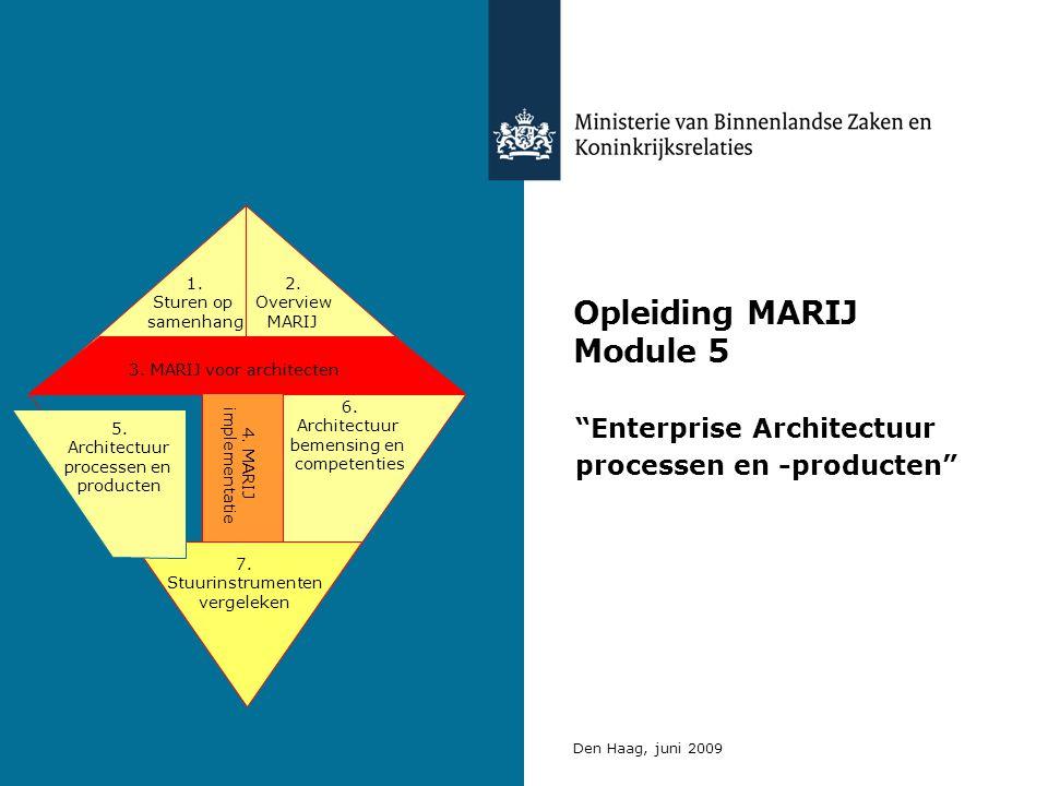 Opleiding MARIJ Module 5