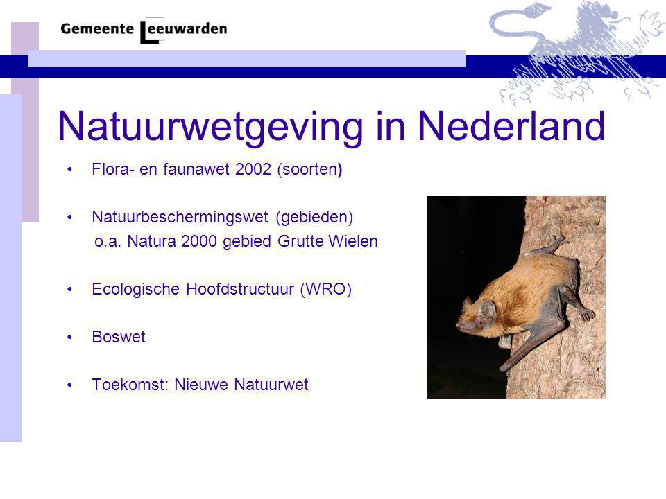 Natuurwetgeving in Nederland