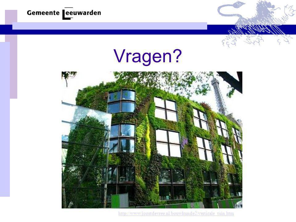 Vragen http://www.joostdevree.nl/bouwkunde2/verticale_tuin.htm