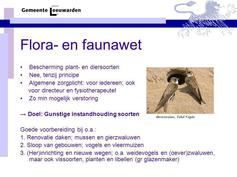 Flora- en faunawet Bescherming plant- en diersoorten