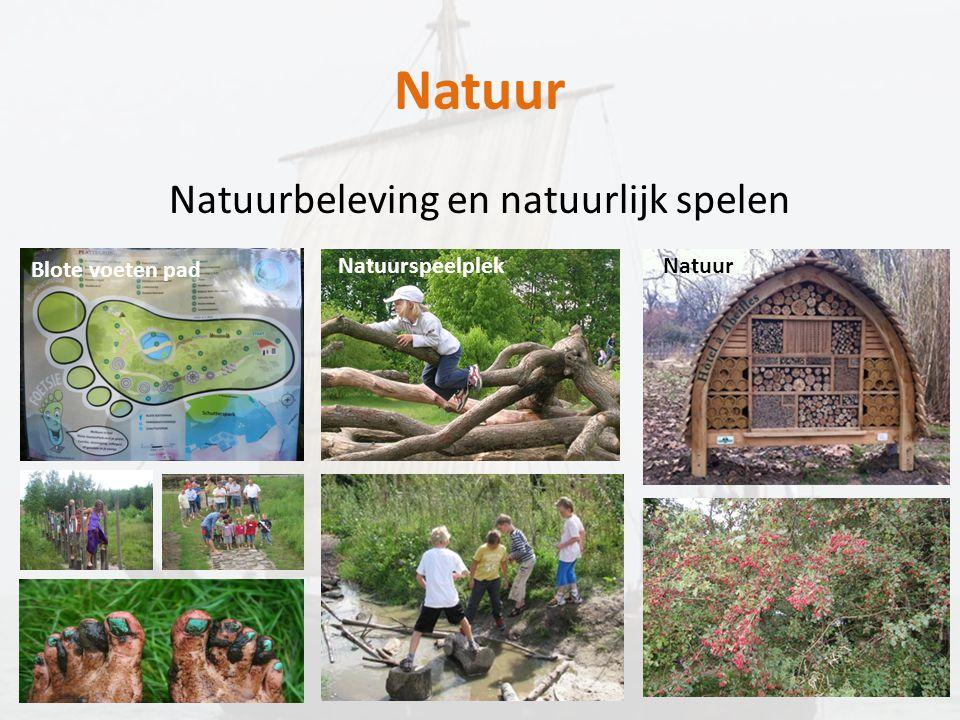 Natuurbeleving en natuurlijk spelen