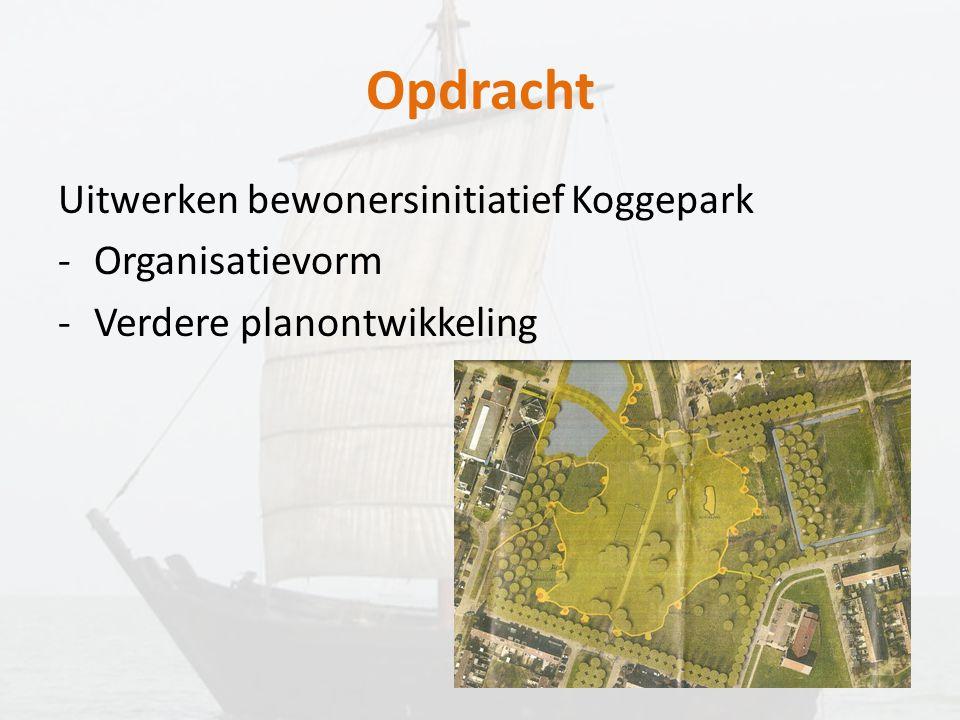 Opdracht Uitwerken bewonersinitiatief Koggepark Organisatievorm