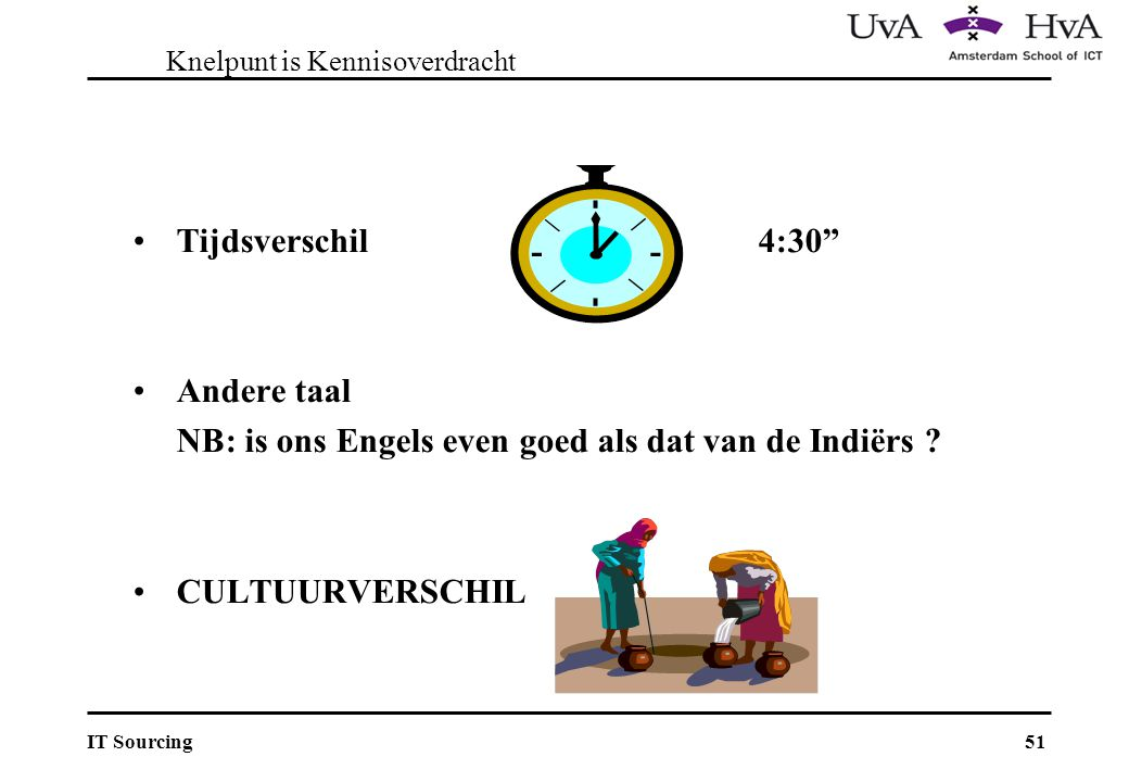 Knelpunt is Kennisoverdracht