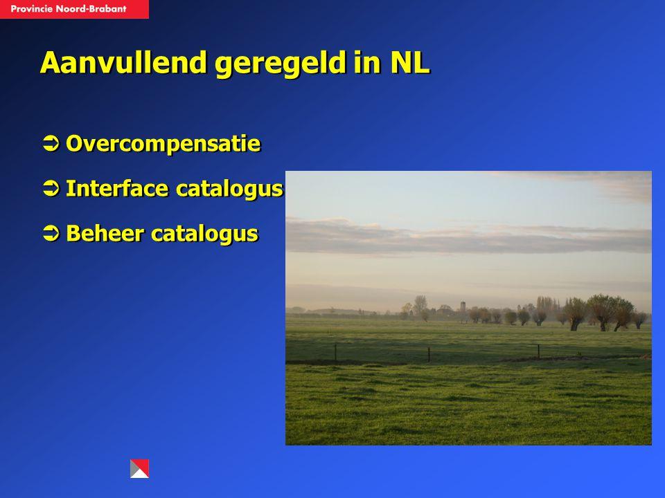 Aanvullend geregeld in NL