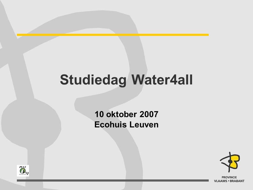 10 oktober 2007 Ecohuis Leuven