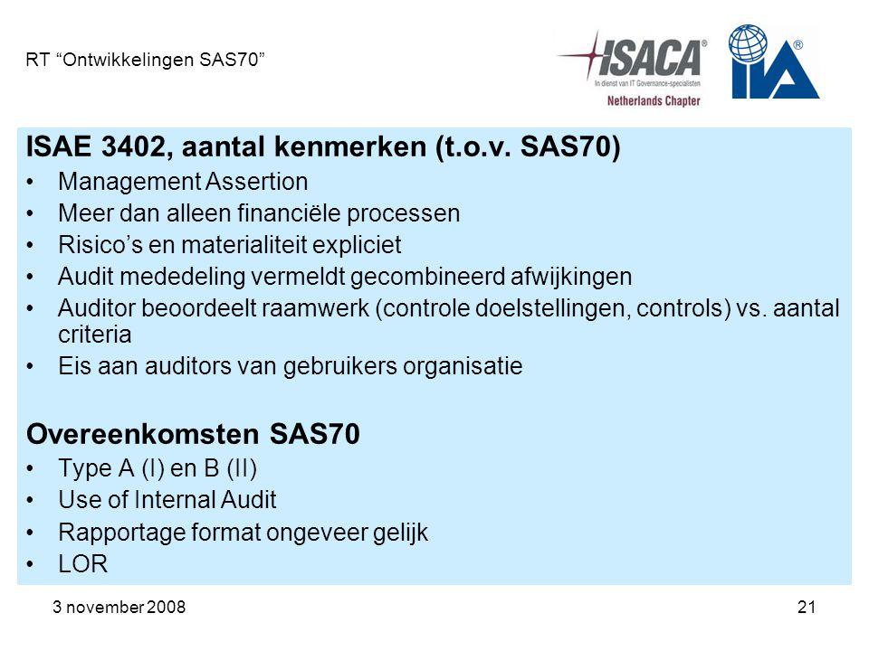 RT Ontwikkelingen SAS70