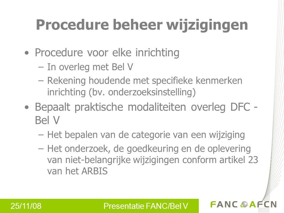 Procedure beheer wijzigingen