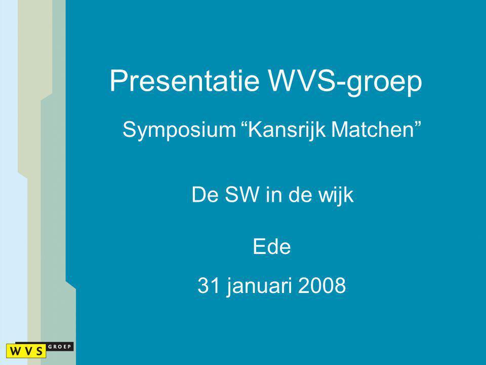 Presentatie WVS-groep