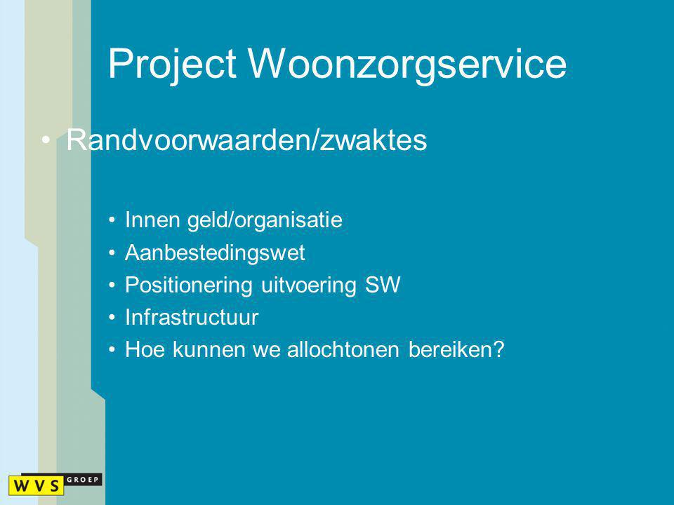 Project Woonzorgservice
