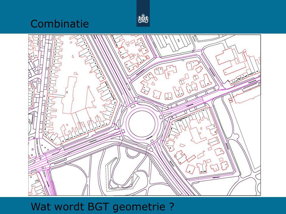 Combinatie Wat wordt BGT geometrie
