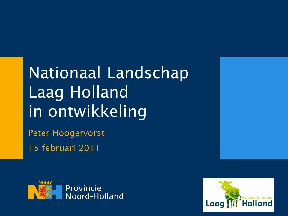 Nationaal Landschap Laag Holland in ontwikkeling