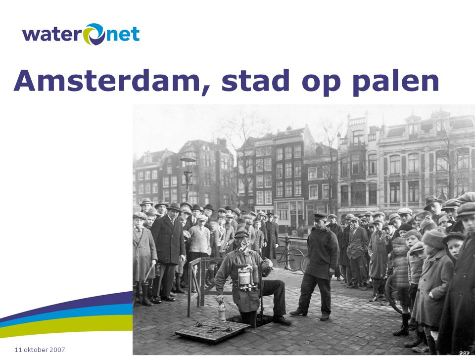 Amsterdam, stad op palen
