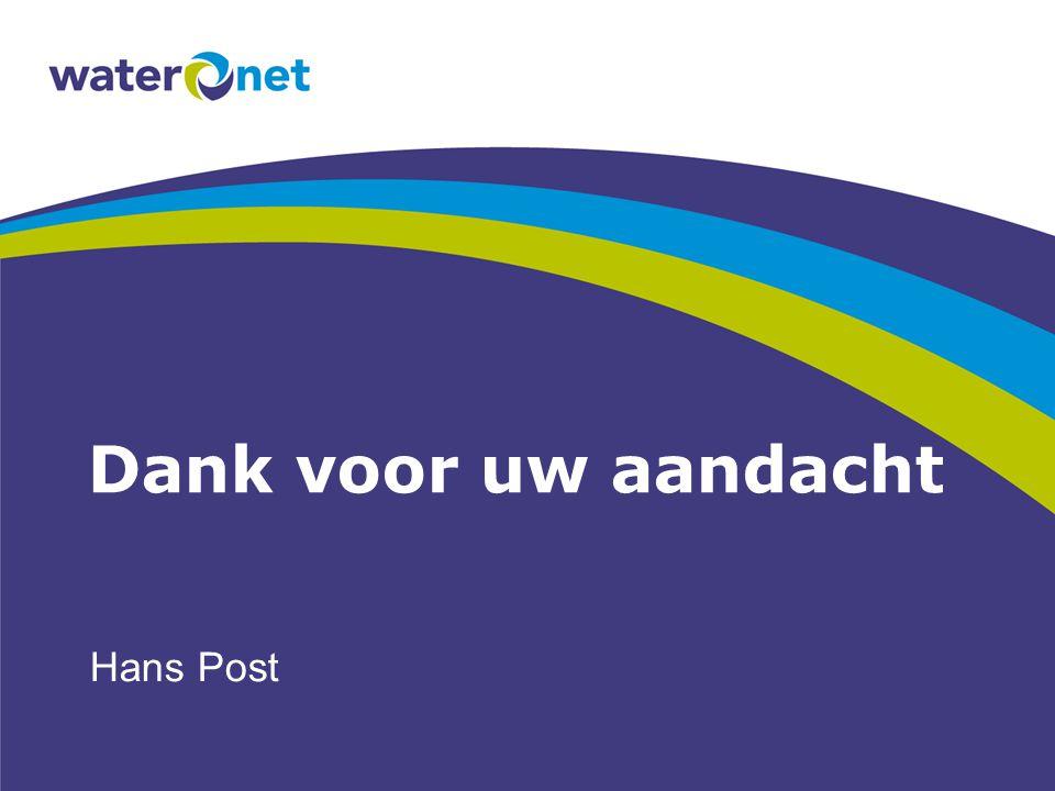 Dank voor uw aandacht Hans Post