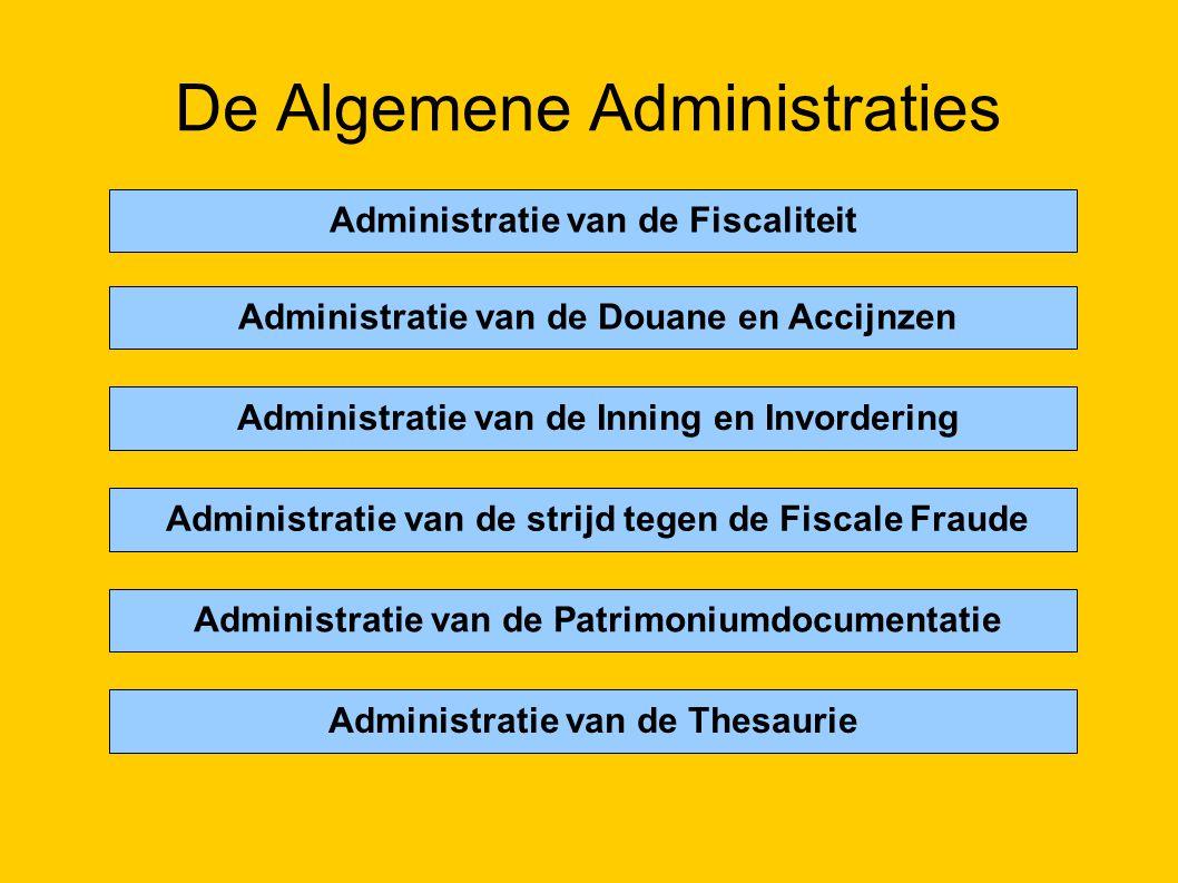 De Algemene Administraties