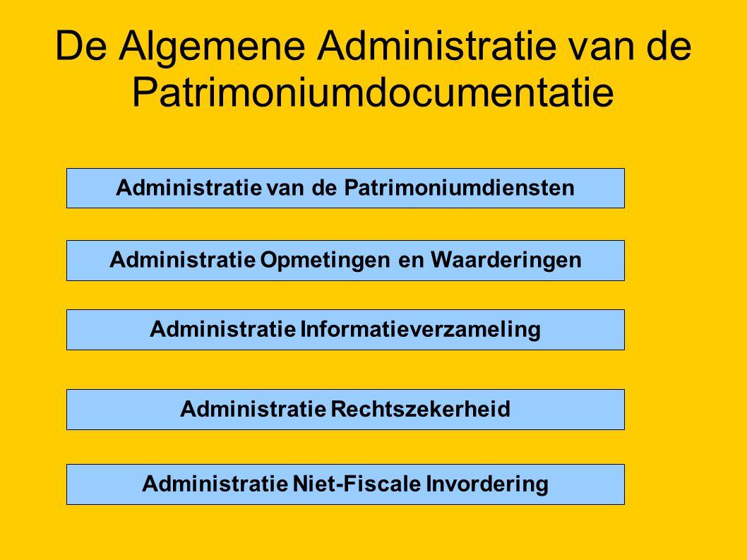 De Algemene Administratie van de Patrimoniumdocumentatie