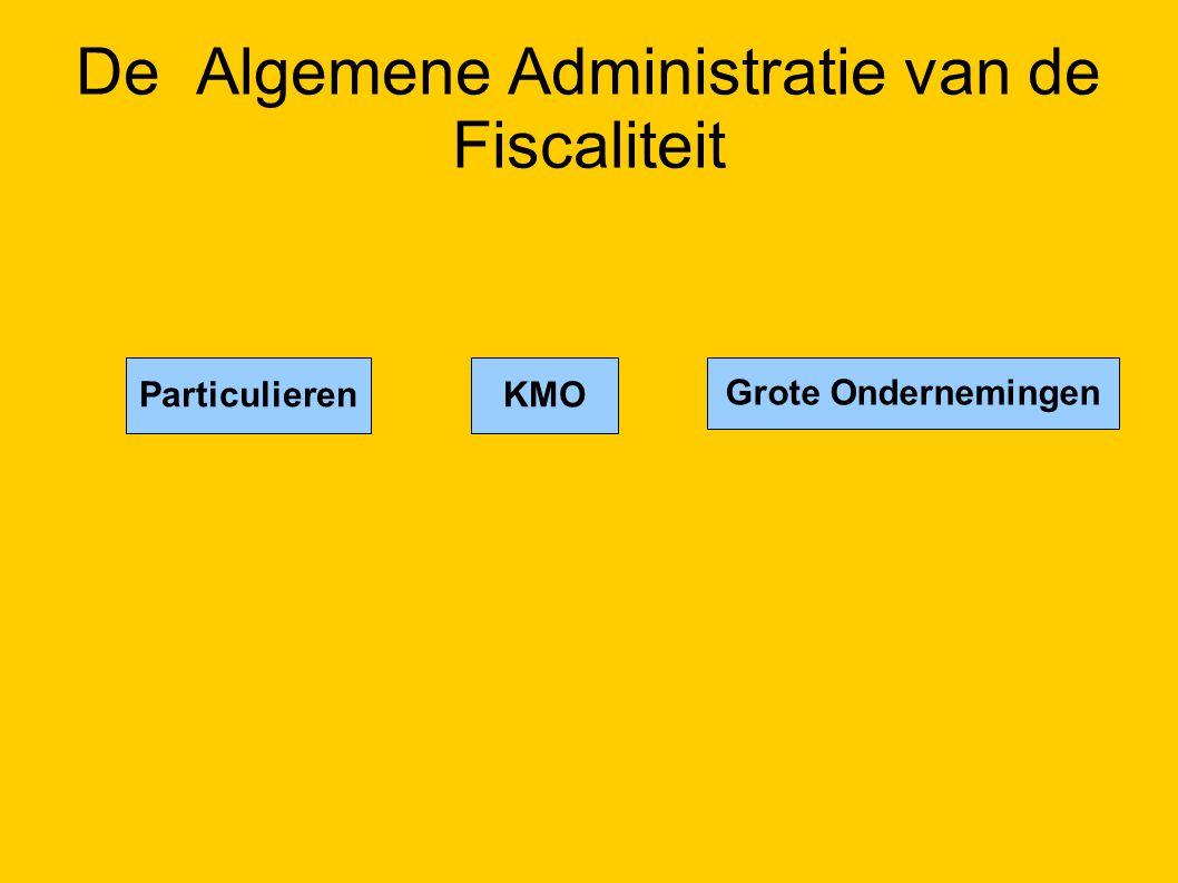 De Algemene Administratie van de Fiscaliteit