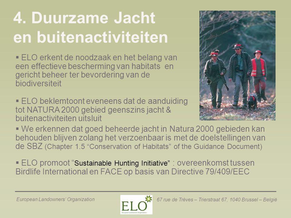 4. Duurzame Jacht en buitenactiviteiten