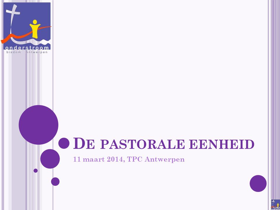 De pastorale eenheid 11 maart 2014, TPC Antwerpen