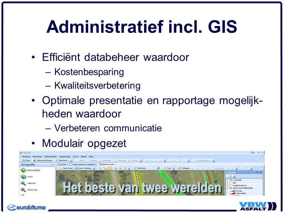 Administratief incl. GIS