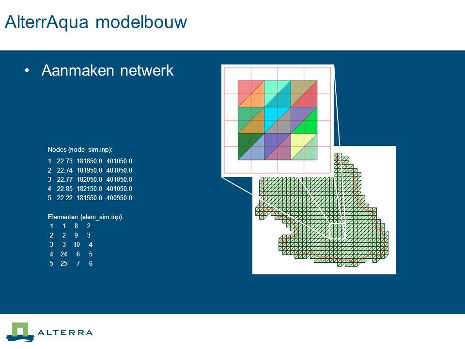 AlterrAqua modelbouw Aanmaken netwerk Nodes (node_sim.inp):