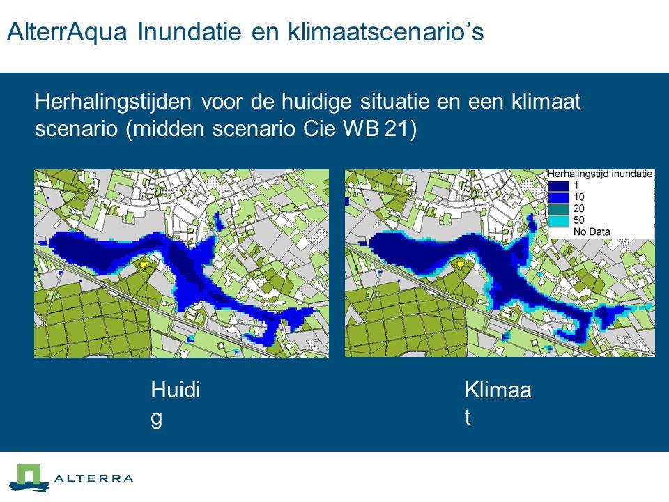 AlterrAqua Inundatie en klimaatscenario's