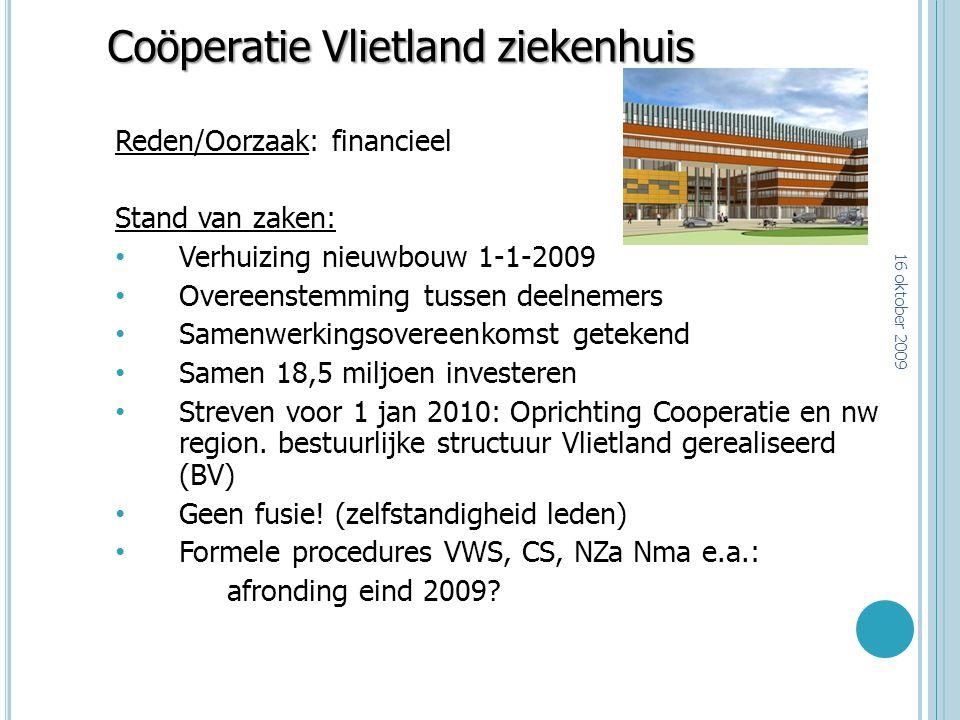 Coöperatie Vlietland ziekenhuis