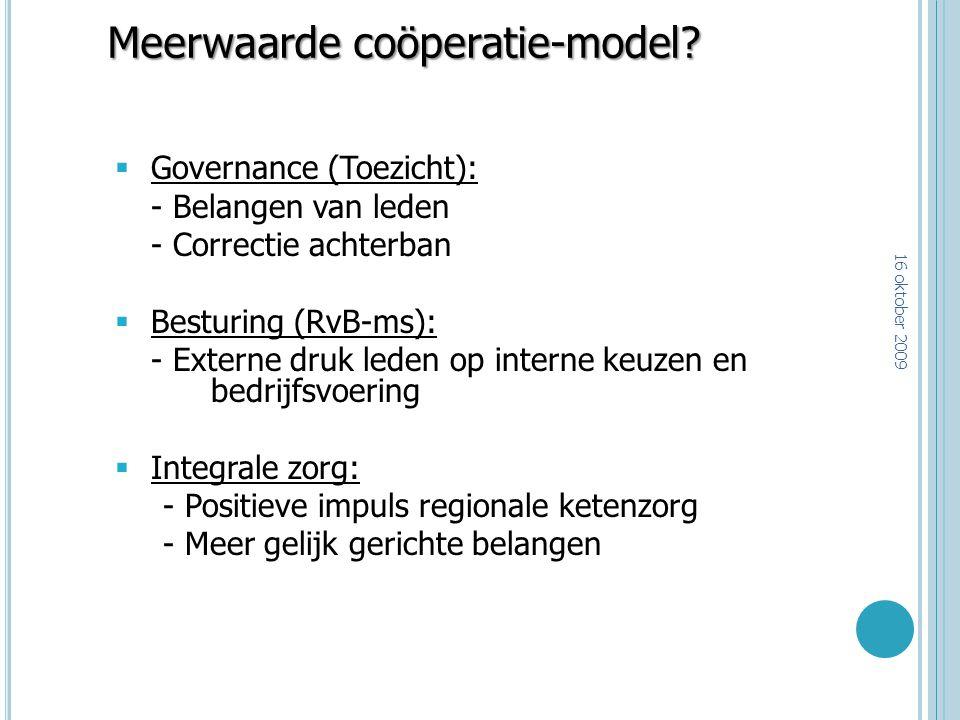 Meerwaarde coöperatie-model