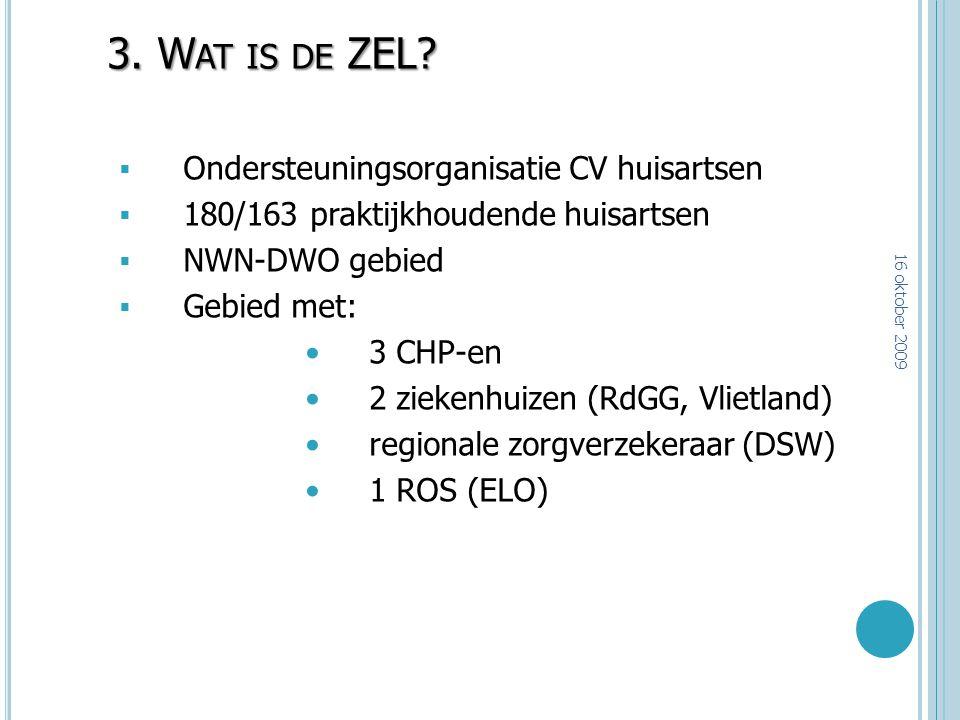 3. Wat is de ZEL Ondersteuningsorganisatie CV huisartsen
