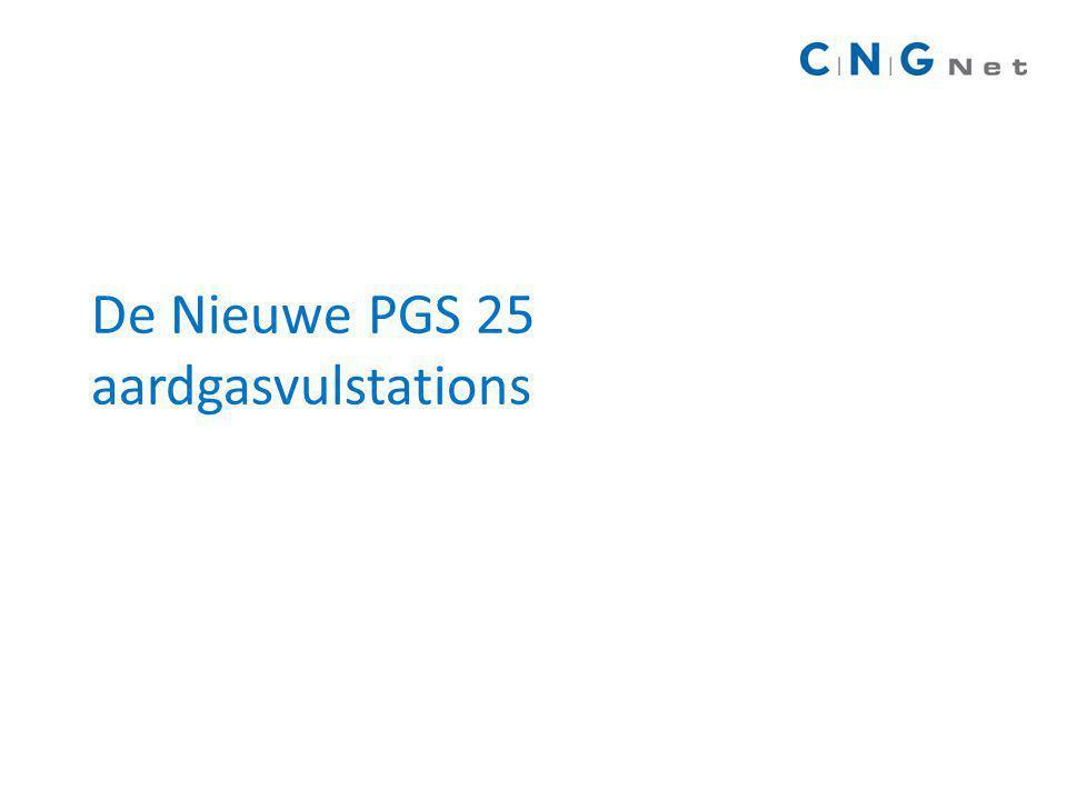 De Nieuwe PGS 25 aardgasvulstations
