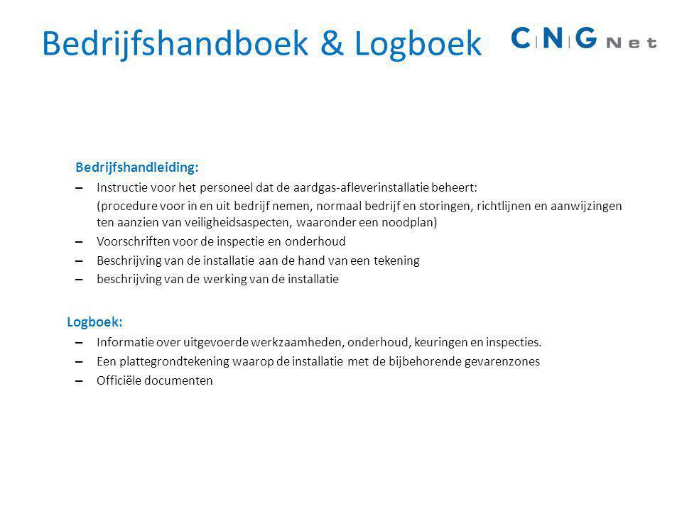 Bedrijfshandboek & Logboek