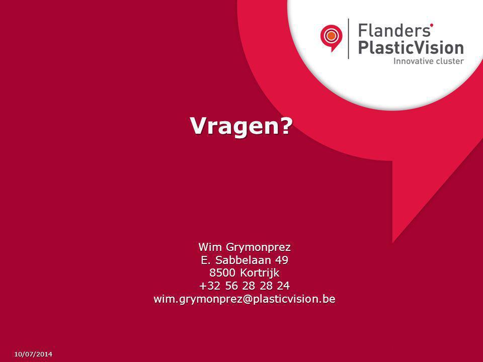 Vragen Wim Grymonprez E. Sabbelaan 49 8500 Kortrijk +32 56 28 28 24
